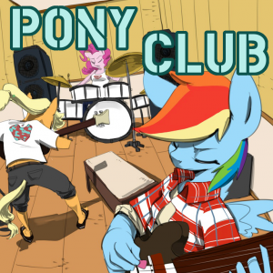 CUT3 418941__safe_rainbow+dash_pinkie+pie_applejack_anthro_music_instrument_interior_artist-colon-swomswom_band