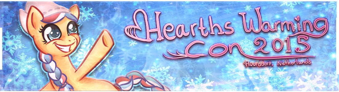 Bannière de la Heart's Warming Con