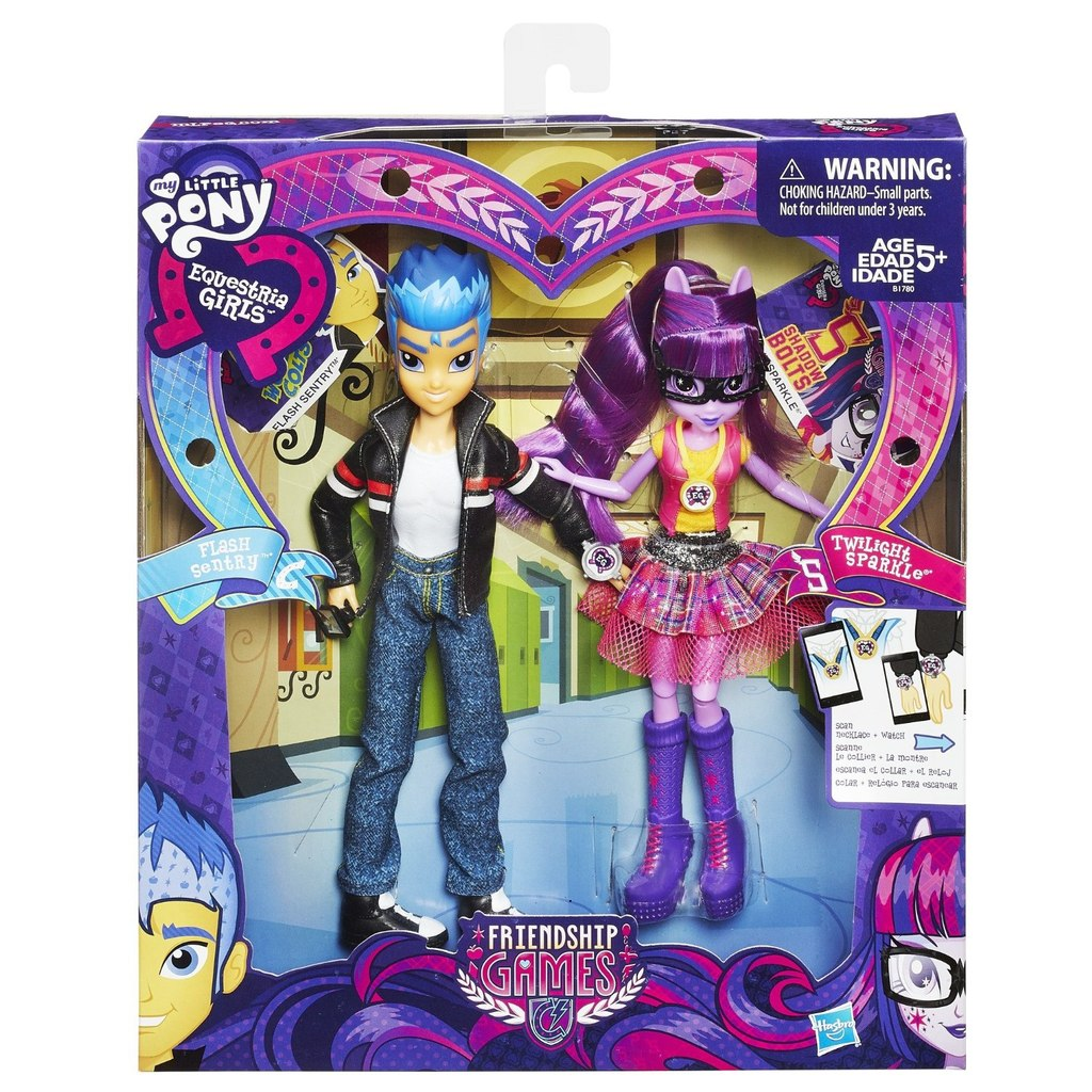 Flash Sentry Friendship Games Twilight Sparkle Pack